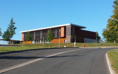 Construction de la salle de congrès à St Yrieix la P. (87)