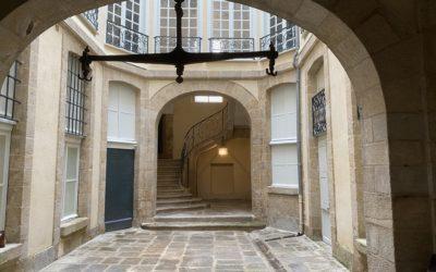 Rénovation lourde d'un hôtel particulier à Limoges (87)