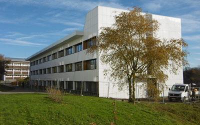Clos couvert et mise en accessibilité d'un bâtiment externat au lycée Jean Favard de Guéret (23)