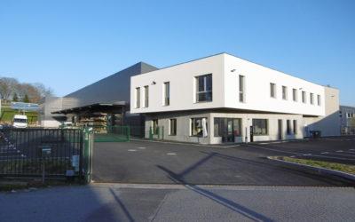 Construction d'un ensemble industriel (bâtiment administratif et ateliers) à Limoges (87)