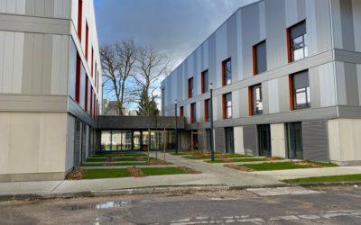 Construction de logements étudiants à Saint Sébastien de Morsent (27)