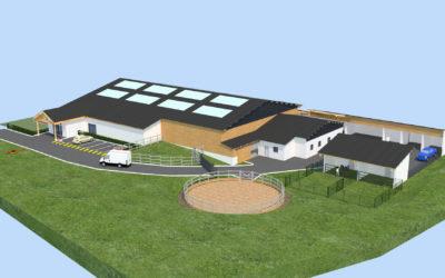 Création d'un centre d'équithérapie à Saint Sébastien de Morsent (27)
