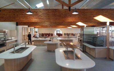 Rénovation, réaménagement du restaurant universitaire de La Borie à Limoges (87)