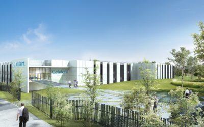 Création d'un accueil clients et aménagement des extérieurs sur le site de CATALENT à LIMOGES (87)